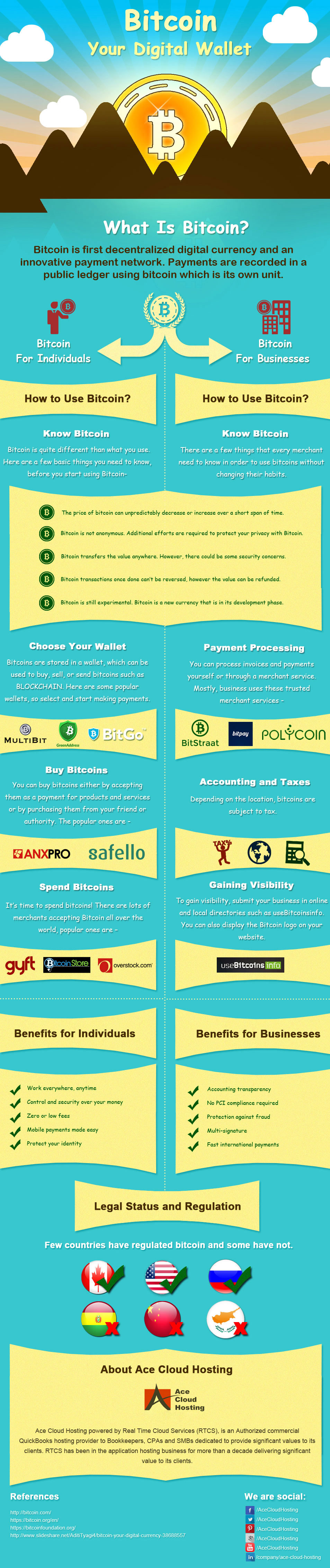 Getting Started With Bitcoin Your Digital Wallet Infographic