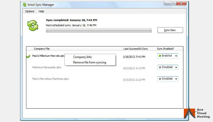 Intuit-Sync-Manager