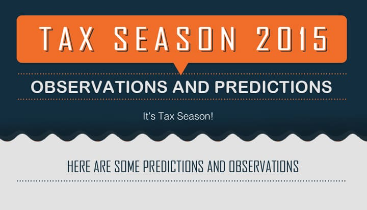Tax Season 2015 Top 10 Observations and Predictions