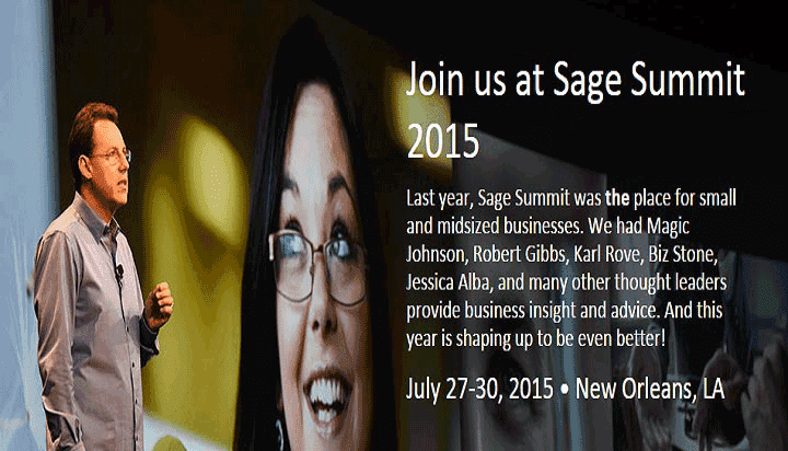 Sage Summit 2015 in New Orleans