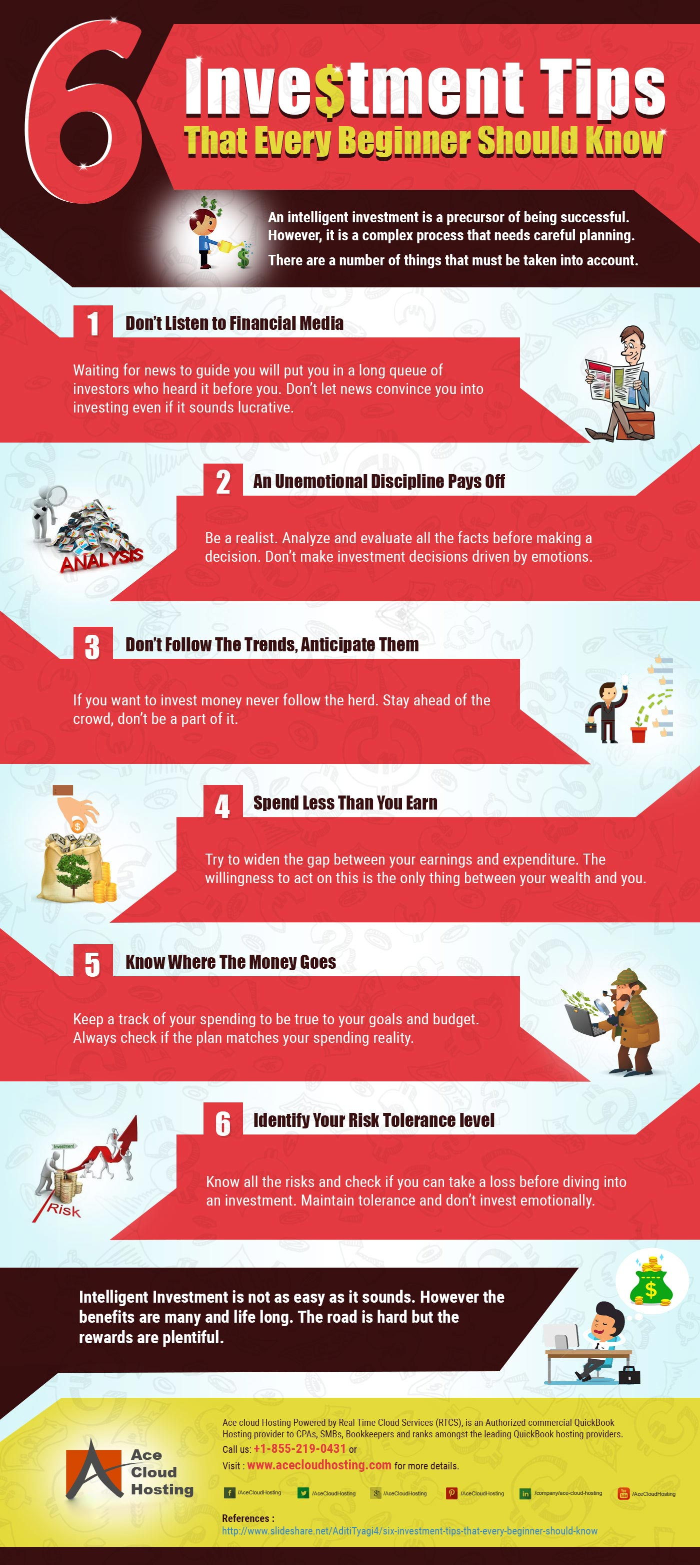 Infographic - 6 Investment Tips that Every Beginner Should Know