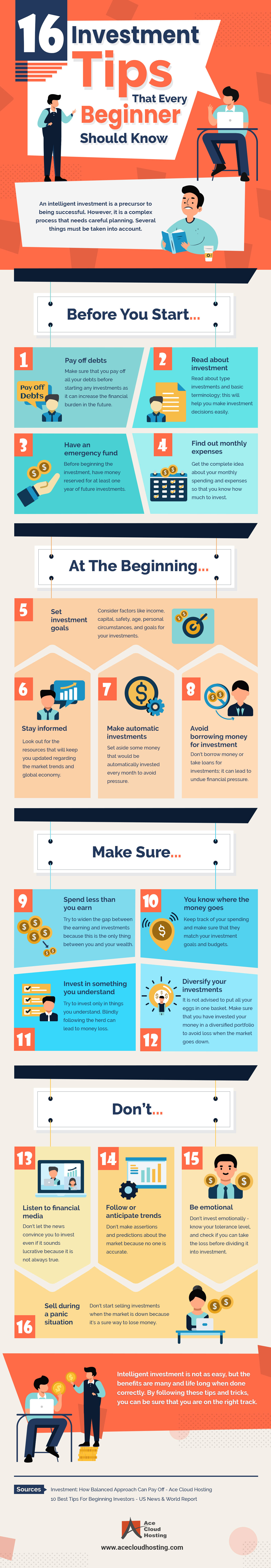 16 Investment Tips That Every Beginner Should Know [Infographic]