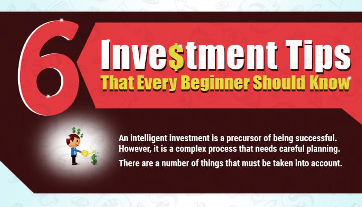 Infographic 6 Investment Tips that Every Beginner Should Know