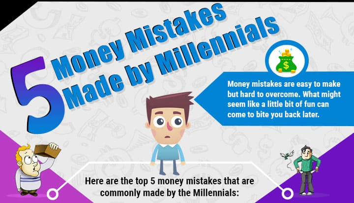 Infographic 5 Money Mistakes Made By Millennials