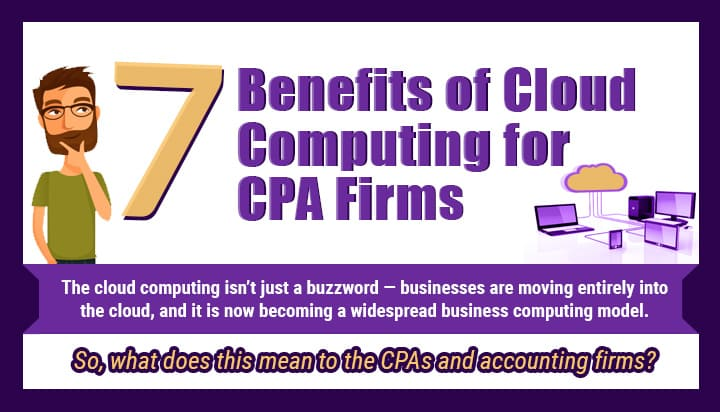 Infographic Benefits of Cloud Computing for CPA Firms