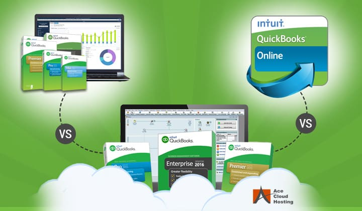 quickbooks hosting vs online vs desktop