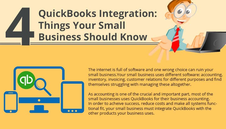QuickBooks Integration 4 Things Your Small Business Should Know