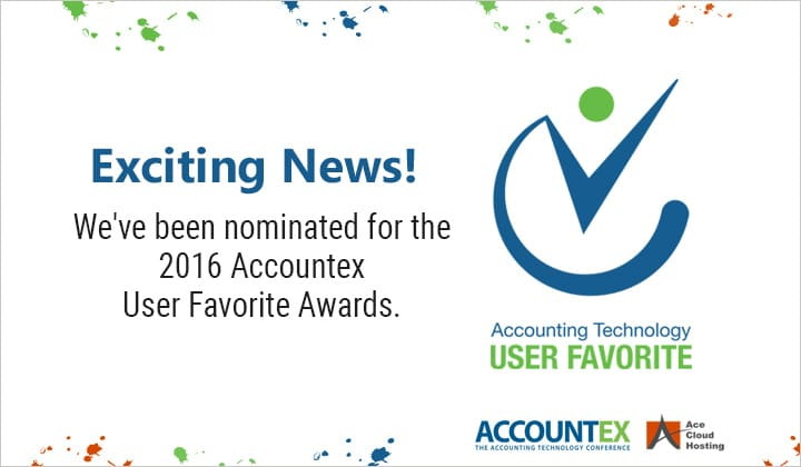 Why You Should Vote For Ace Cloud Hosting at Accountex Award