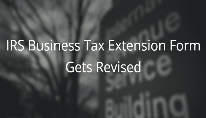 irs business tax extension form