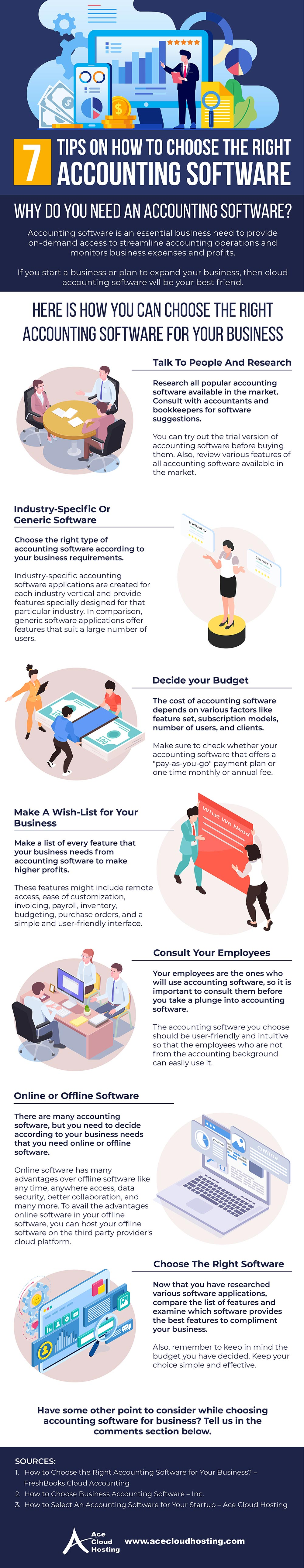 [Infographic] 7 Tips on How to Choose the Right Accounting Software