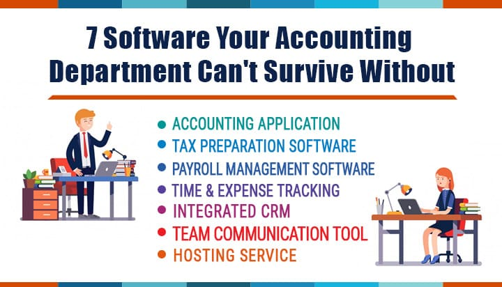 7 Software Your Accounting Department Can't Survive Without
