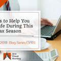 how to stay safe in tax season