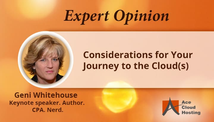 Expert Opinion Considerations for Your Journey to the Cloud(s)