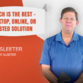 Doug Sleeter's Advice on Choosing Desktop, Online, Or Hosted Solution For Your Accounting