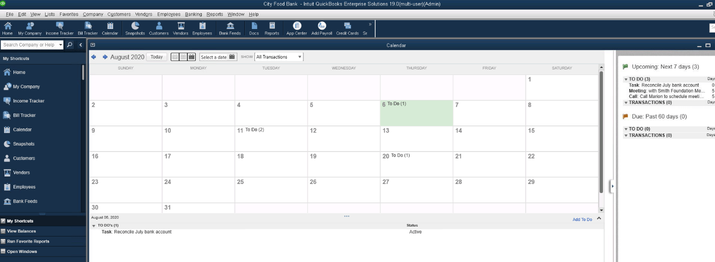 Scheduling Tasks, Appointments, and More