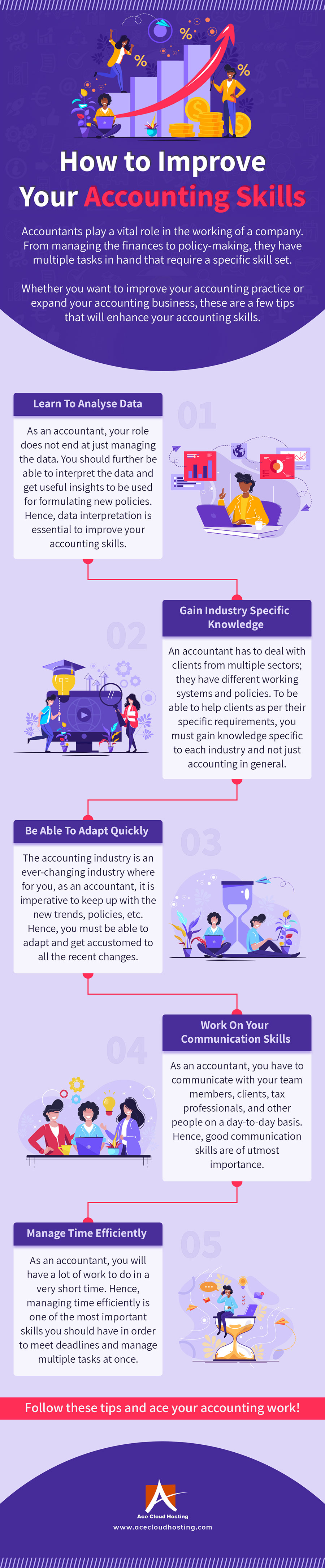 How To Improve Your Accounting Skills [Infographic]