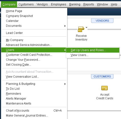 User Adding and Assigning Permission in QuickBooks