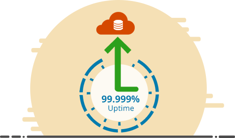 99.999% Uptime with Ace Cloud Hosting