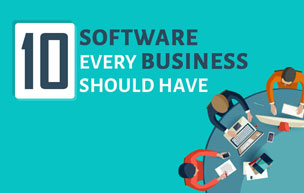 [Infographic] 10 Software Every Business Should Have
