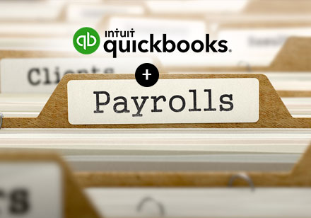 Payroll + QuickBooks. Better Together
