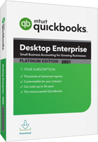 QuickBooks Enterprise Platinum Edition